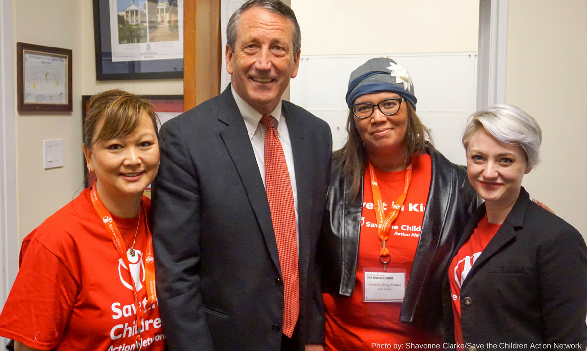 Rep. Sanford of South Carolina meeting with SCAN advocates