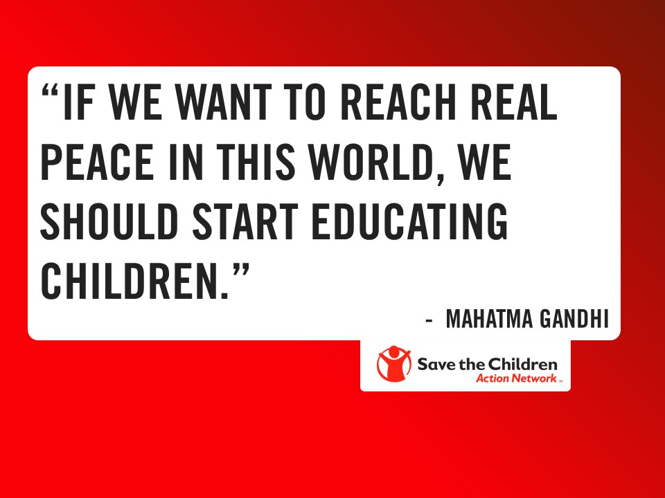 Wednesday Wisdom From Mahatma Gandhi On Peace And Education Save